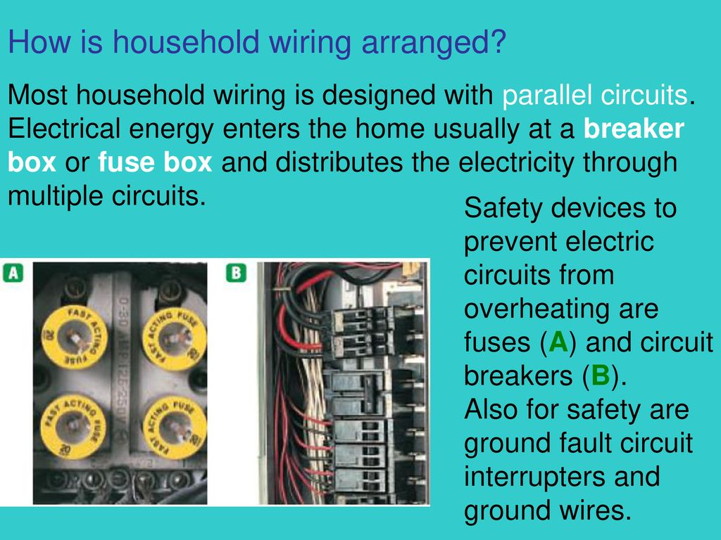 Unit 7 Electrical Energy Ppt Download Basic Household Wiring Series Circuit How Is Arranged
