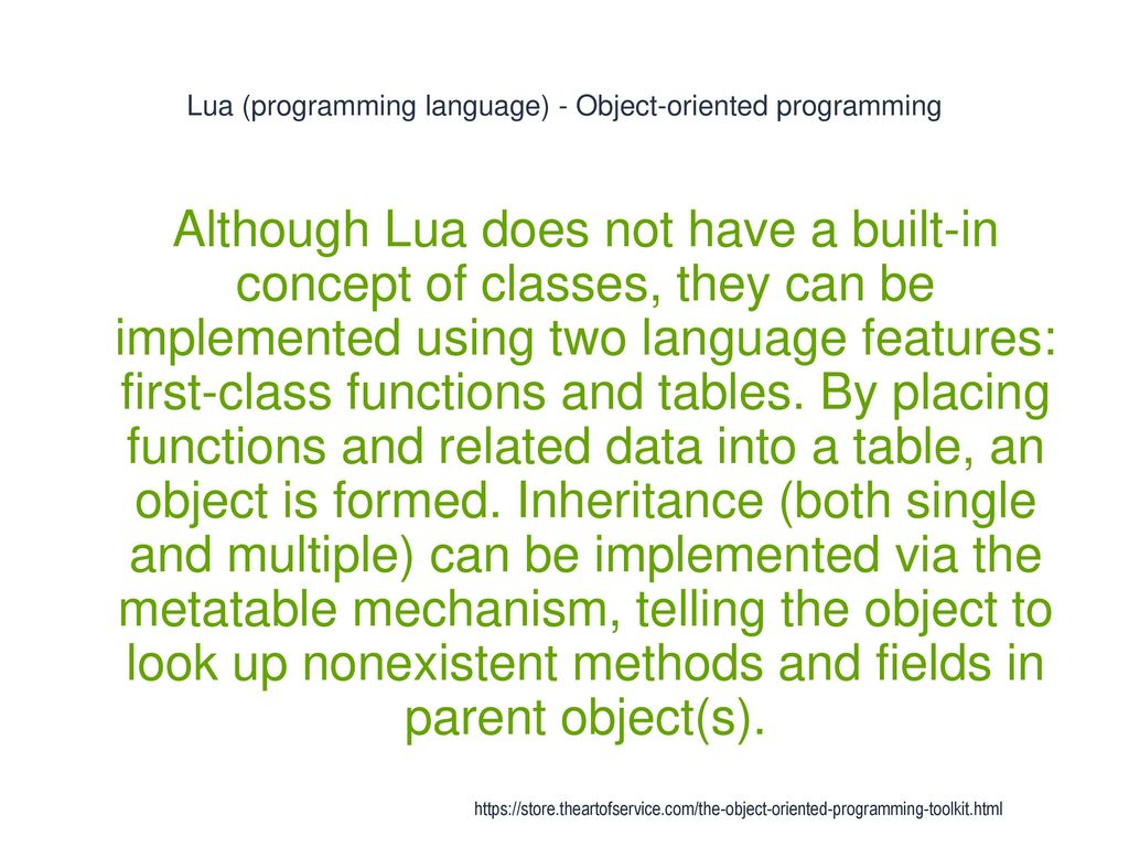 Object-Oriented Programming - ppt download