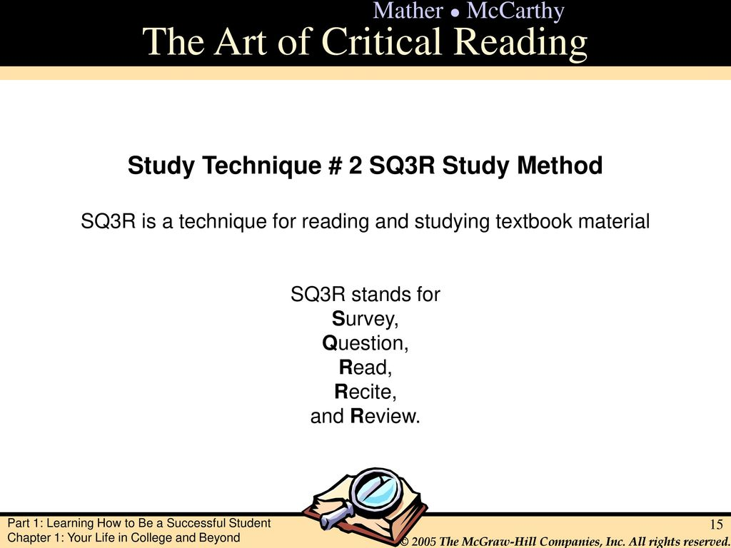 the sq3r study method emphasizes the importance of