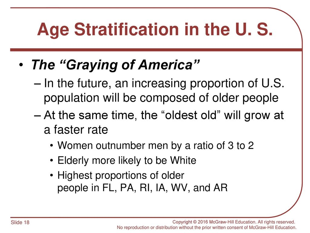 Stratification: to grow faster and better