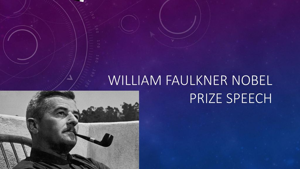 faulkner nobel speech