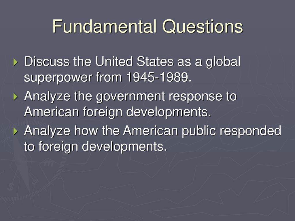 Soviet foreign policy in the 20-30 years. USSR history 35