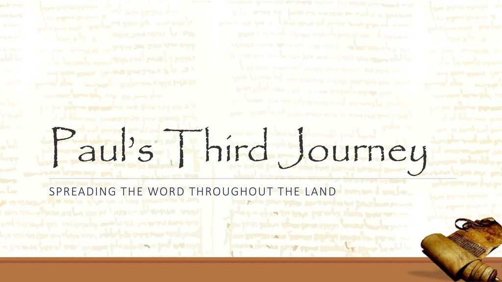 Through the life and letters of the Apostle Paul - ppt download