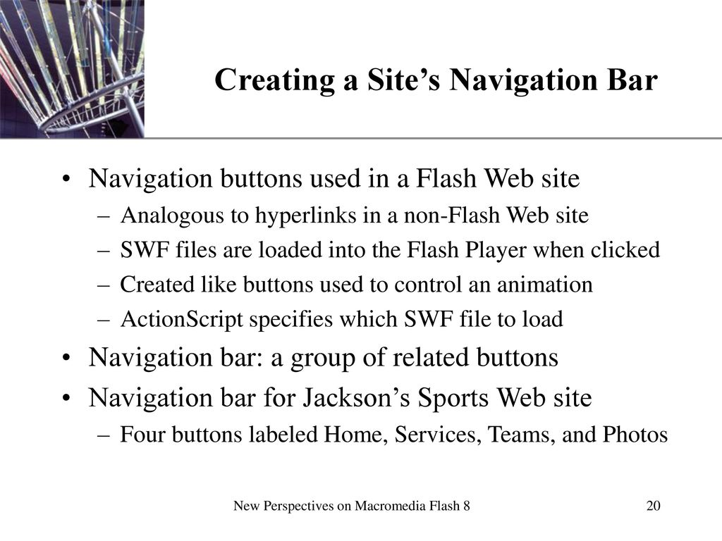 Creating a Flash Web Site - ppt download