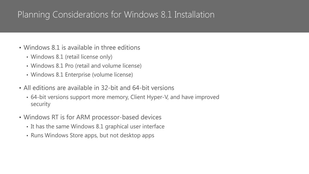 Preparing for the Windows 8 1 MCSA - ppt download