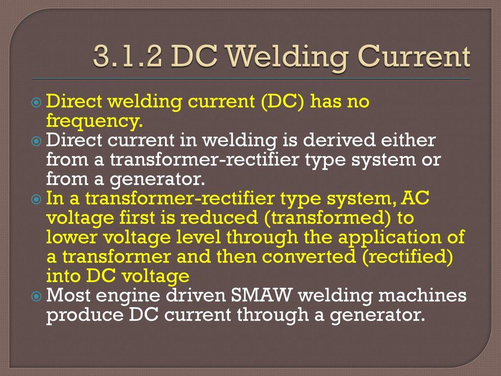 Shielded Metal Arc Welding Equipment & Setup - ppt download