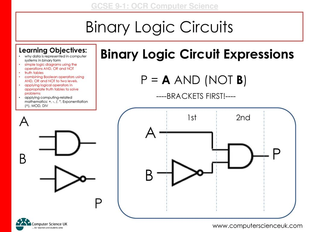Activity 1 5 Minutes Grab A Whiteboard And Pen Come To The Front Logic Diagram Or Binary Circuits P B Circuit Expressions