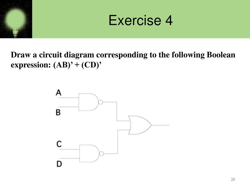 [SCHEMATICS_4US]  Basics of Logic gates - Part 2 - ppt download | Ab C D Circuit Diagram |  | SlidePlayer