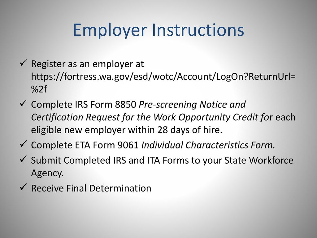 Form 9061 Instructions