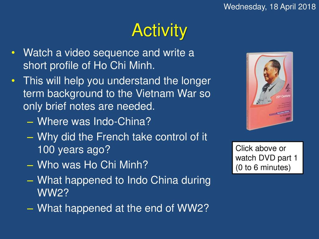 Watch this opening scene  What is happening? - ppt download