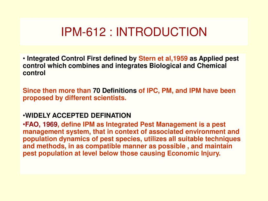 histroy of ipm dr s.m. thakare asso. prof. entomology dr pdkv akola