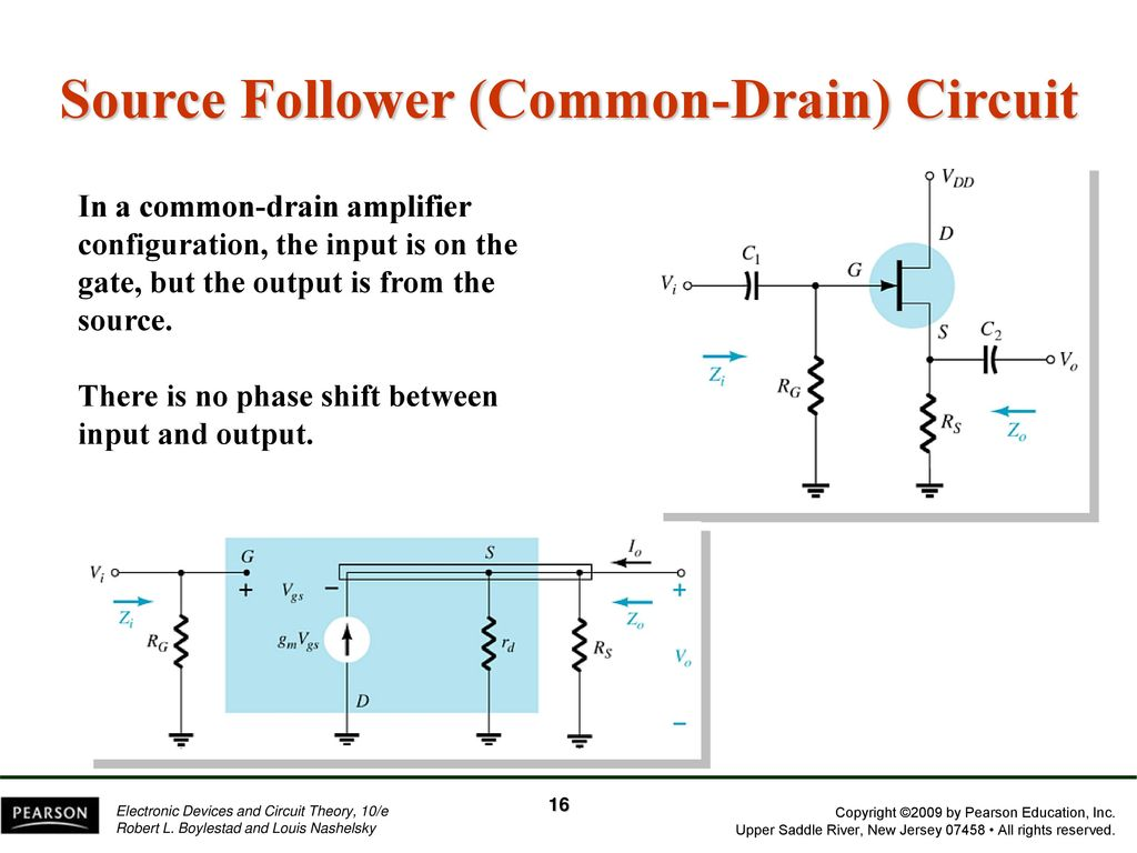 Chapter 8 Fet Amplifiers Ppt Download Common Source Jfet Amplifier Circuit 16 Follower Drain