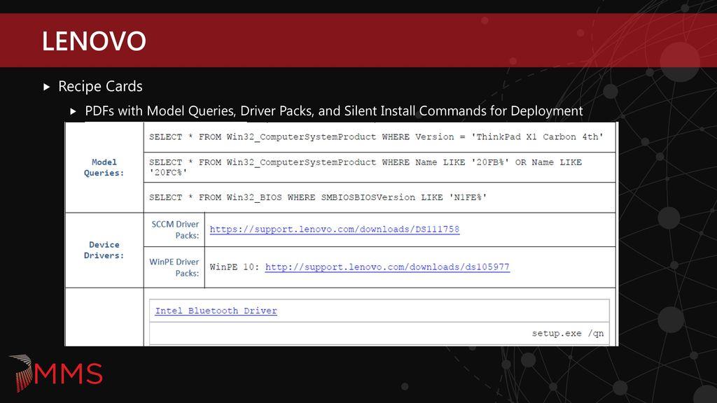 Lenovo Bios Configuration Utility Sccm