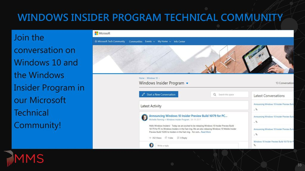 Windows Insider for Business Getting ahead of the curve - ppt download