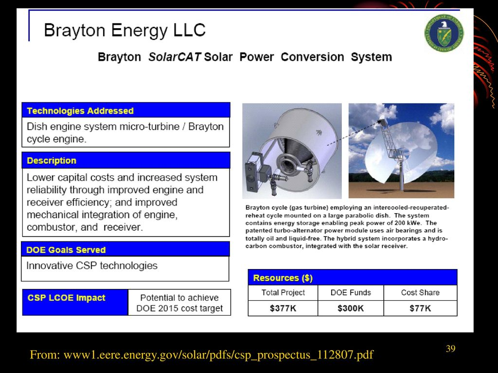 CONCENTRATING SOLAR COLLECTORS - ppt download