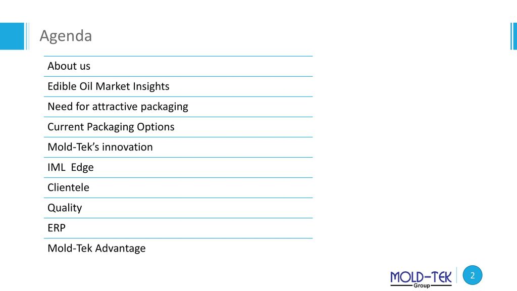 REVOLUTION IN EDIBLE OIL PACKAGING - ppt download