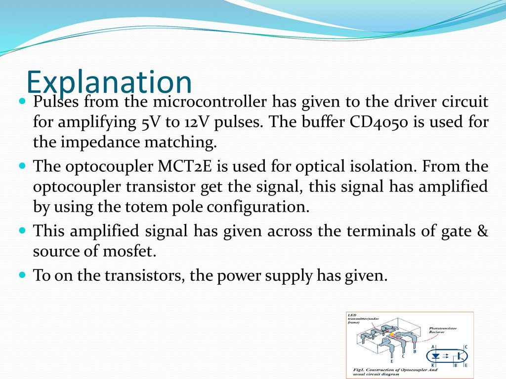 Double Input Z Source Dc Converter Ppt Download Using An Optocoupler 21 Explanation
