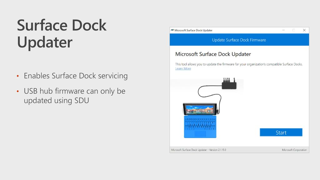 Surface Dock Updater