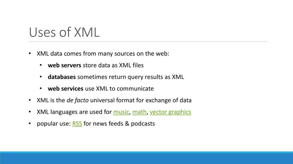 Cse 154 Lecture 12 Xml Ppt Download