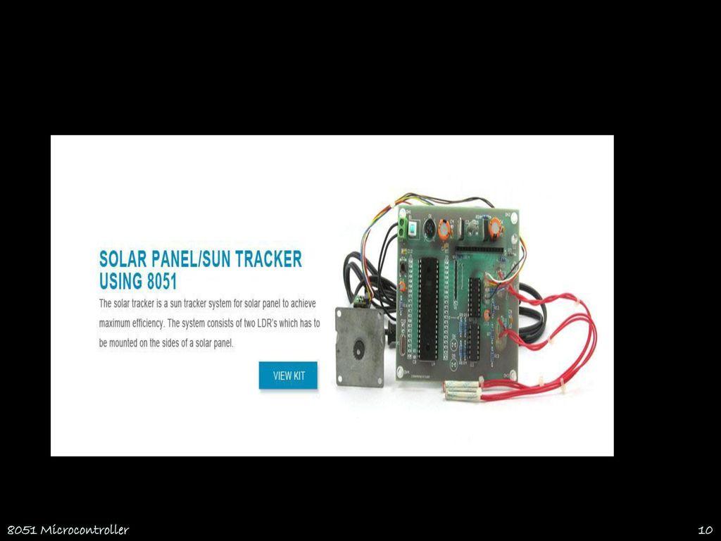 8051 Microcontroller Thanks To Prof Psuresh Rcet Ppt Download Ultrasonic Rangefinder Using Circuit Diagram 10