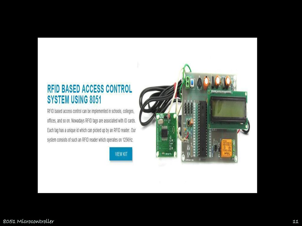8051 Microcontroller Thanks to Prof  P Suresh, RCET  - ppt