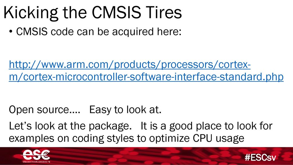 Cmsis Example