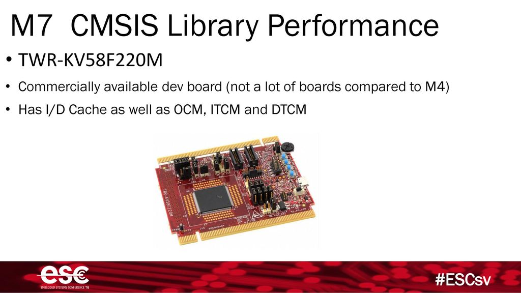 Eli Hughes DSP Development with the ARM Cortex M4 and M7