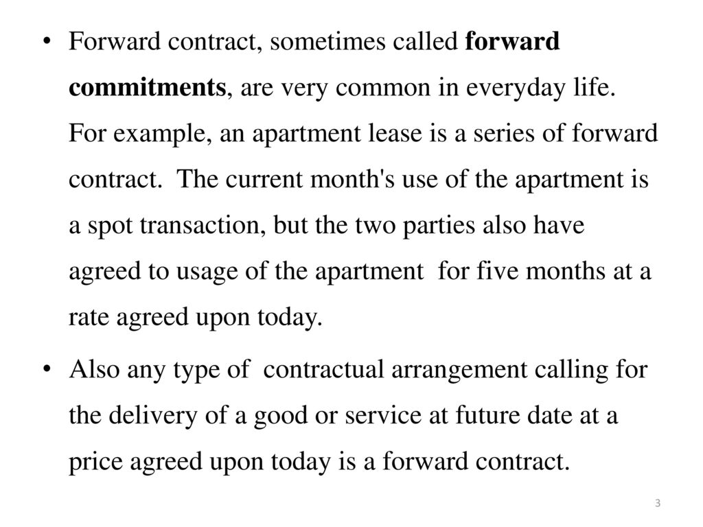 examples of contracts in everyday life