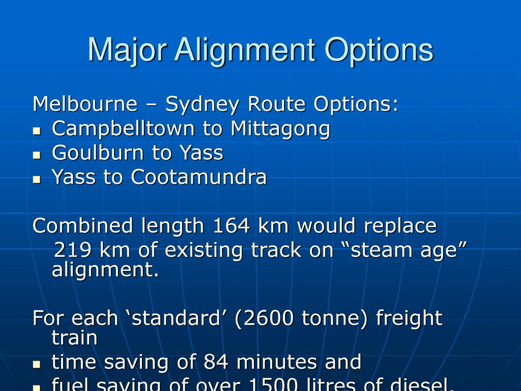 Australian Freight Railways for a New Century - ppt download