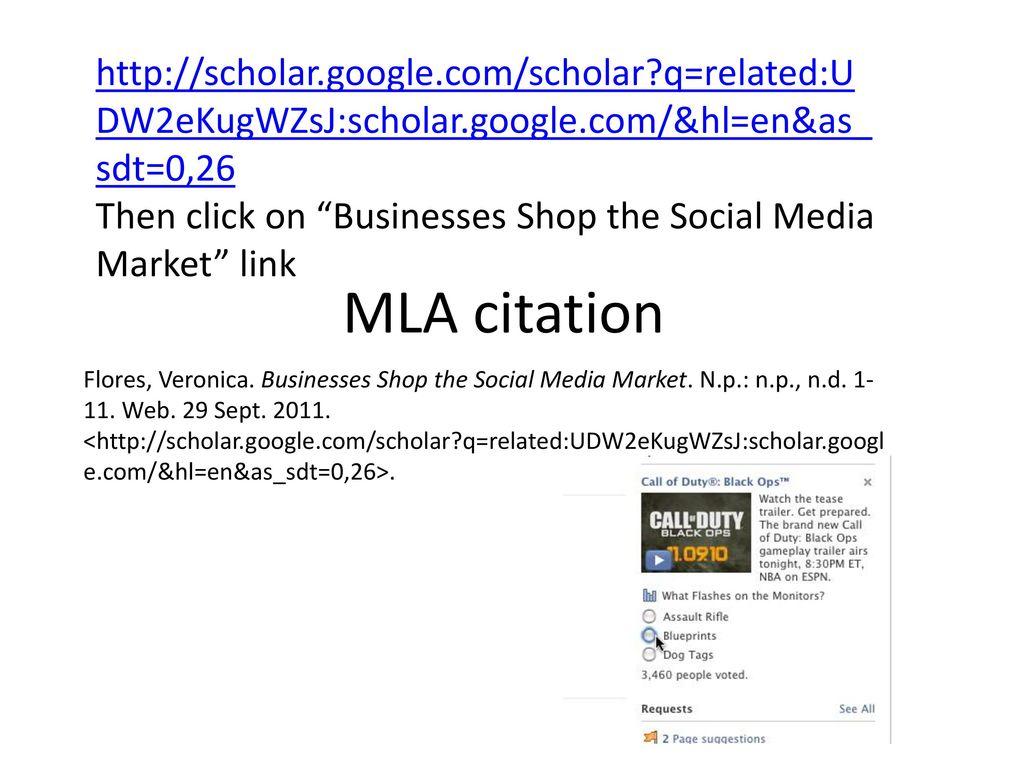 Businesses Shop the Social Media Market. 11 ...