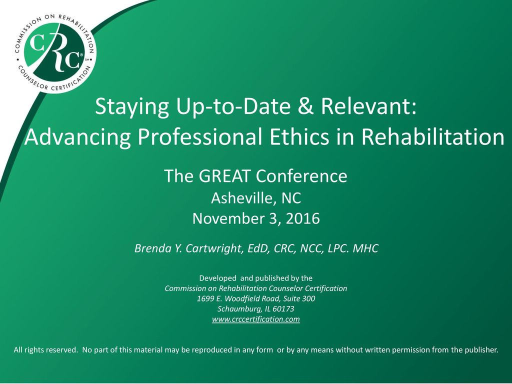 Staying Up To Date Relevant Advancing Professional Ethics In
