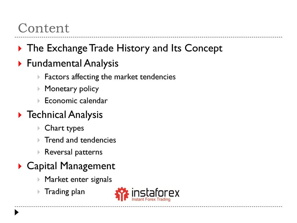 Fundamental analysis forex market