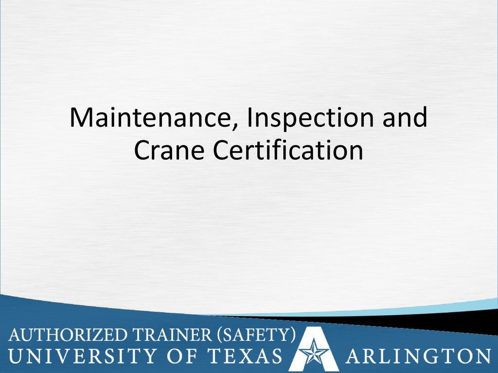 Cranes And Crane Safety Awareness Ppt Download