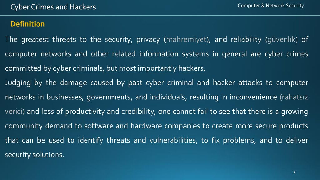 cyber crime problems and solutions