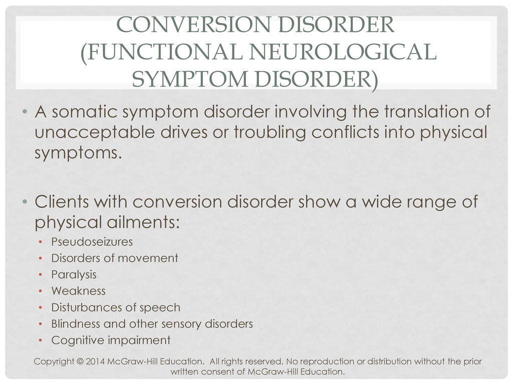 Dissociative and Somatic Symptom Disorders - ppt download