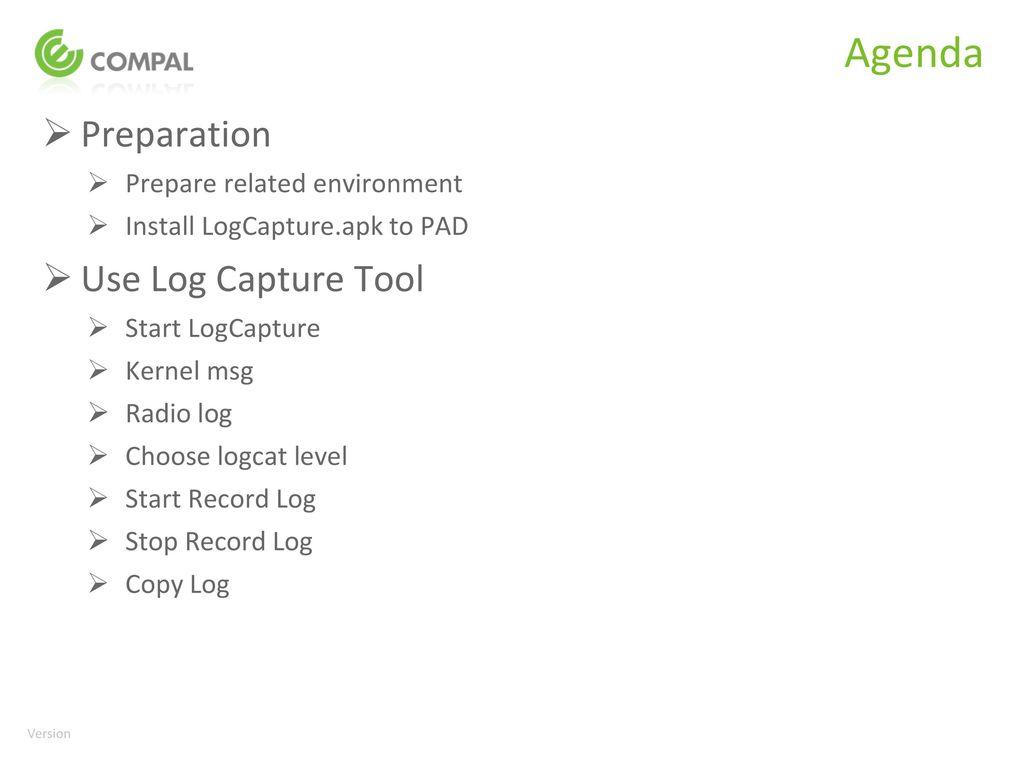 SOP for CSD Log Capture Tool V0 1_ - ppt download