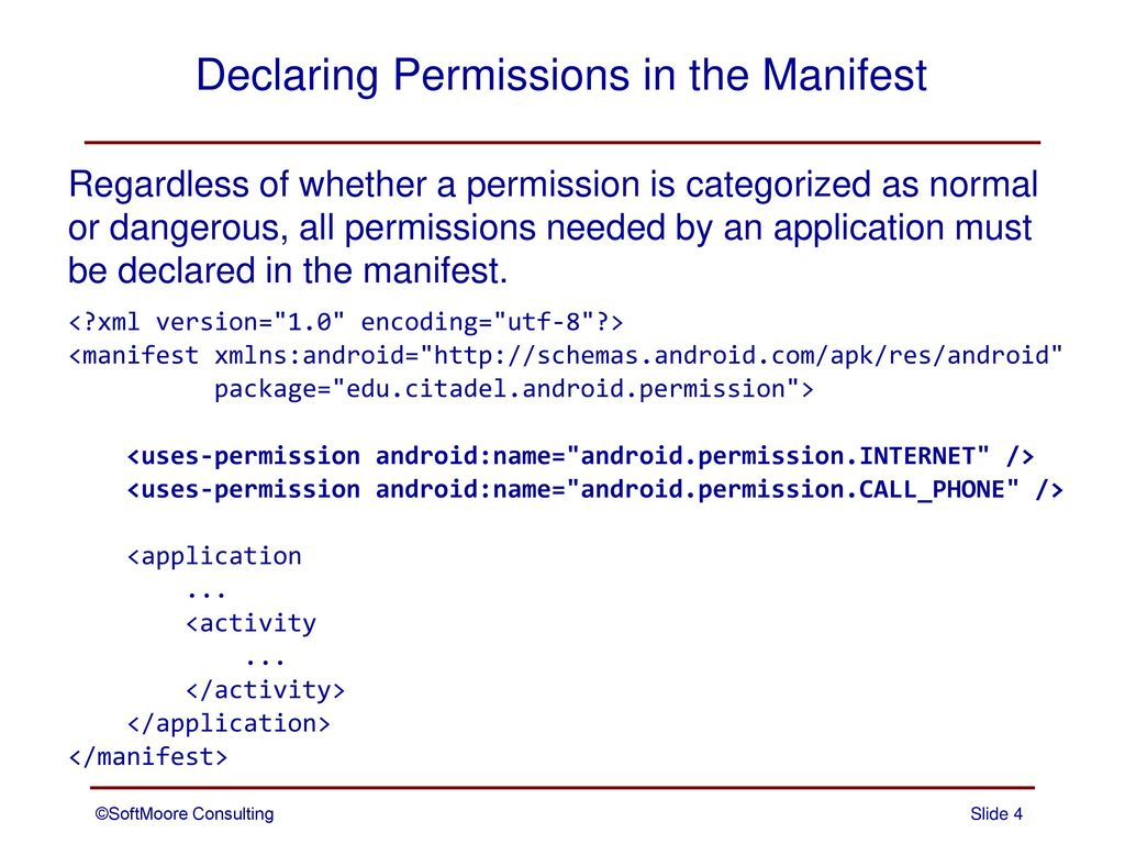 Permissions  - ppt download