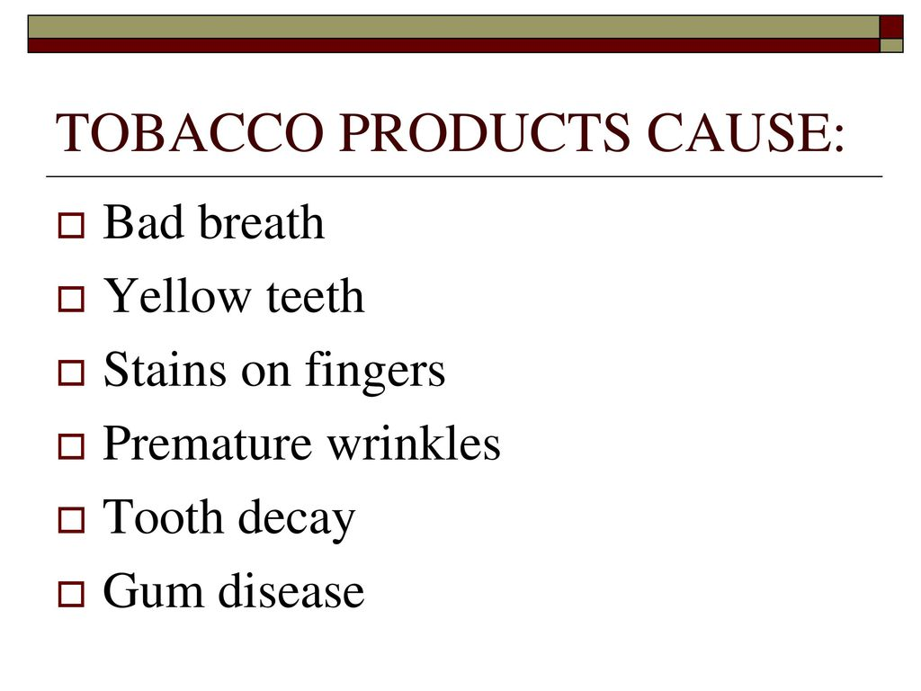 TOBACCO  - ppt download