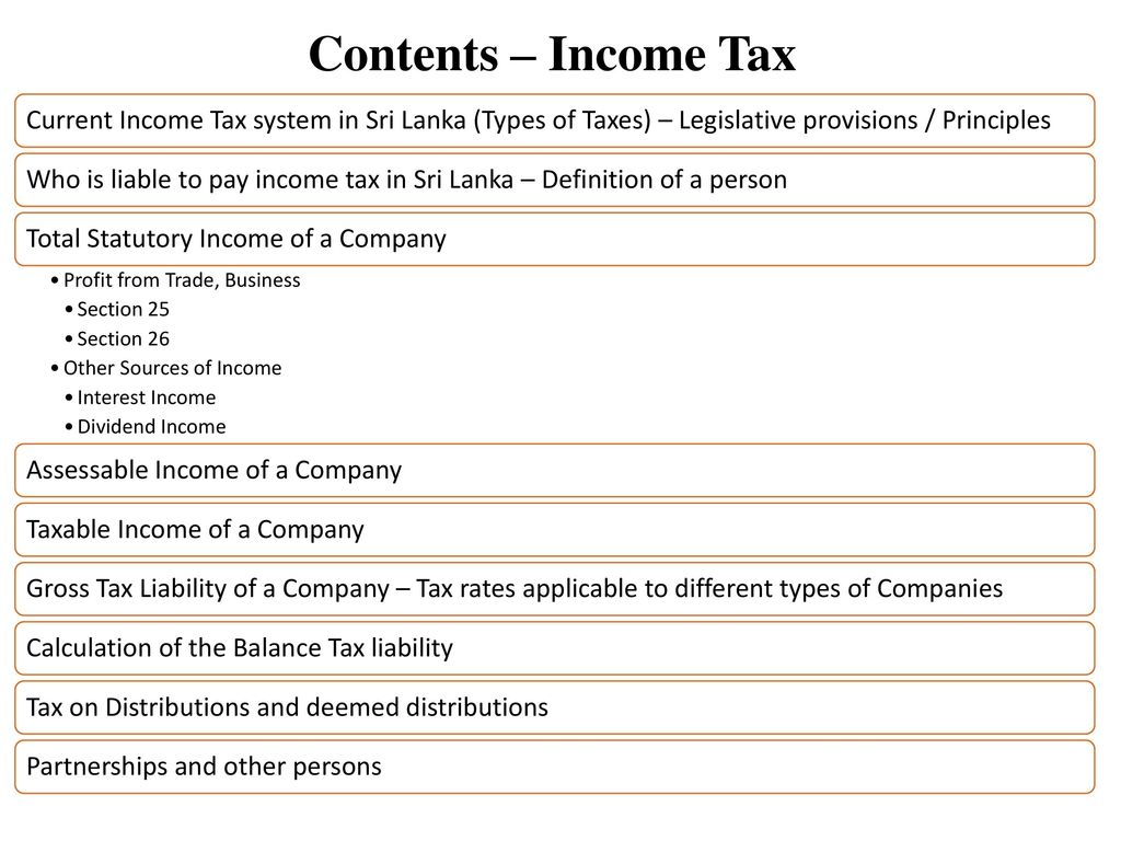kb 3 – business taxation ca sri lanka – business level. - ppt download