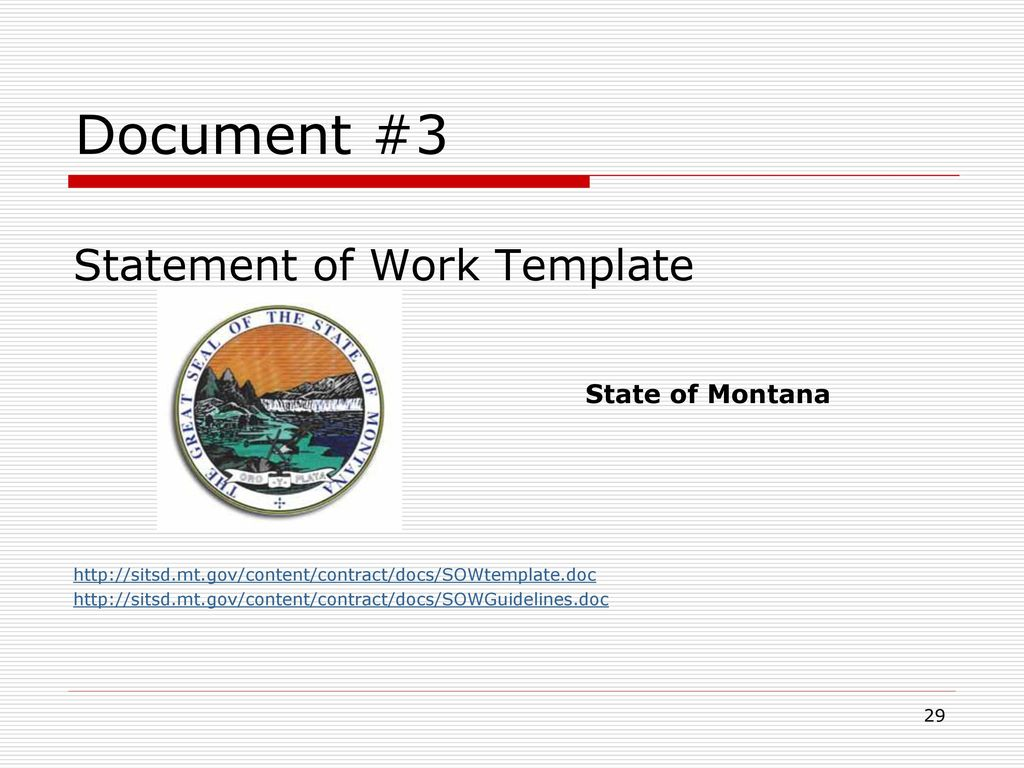 Statements of Work – Getting Them Right!! - ppt download