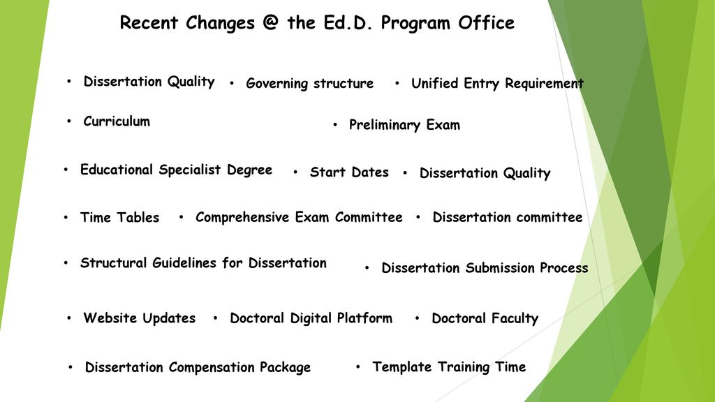 Recent Changes in the UWF Doctoral Program - ppt download