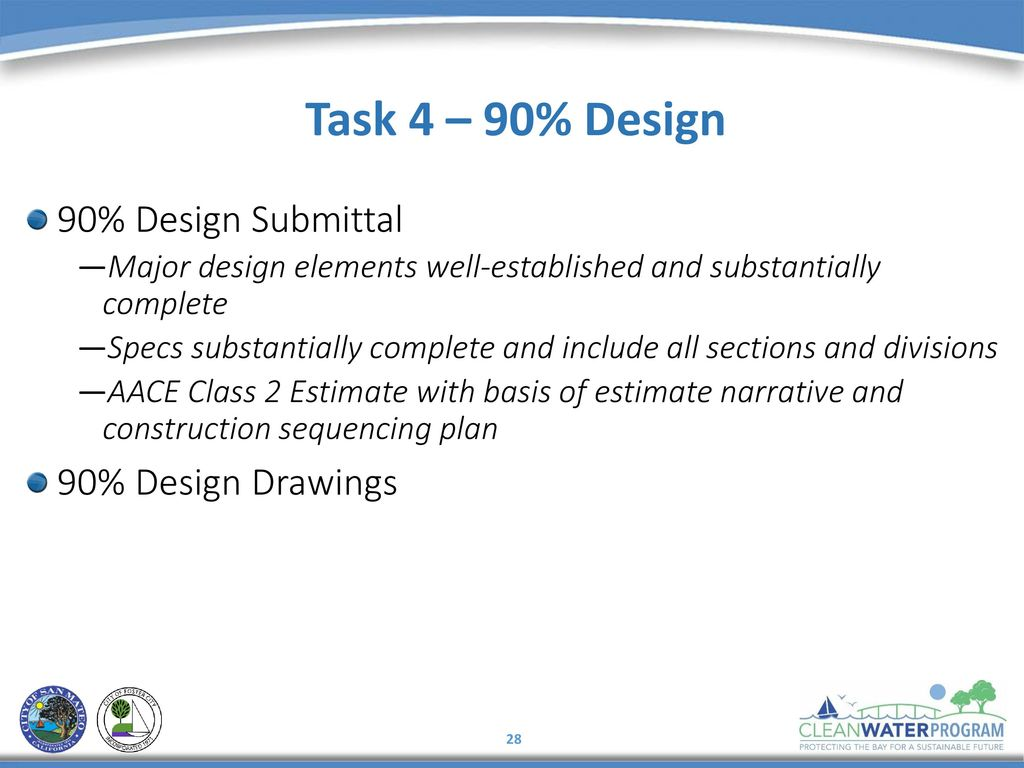 Task 4 90 Design Submittal Drawings