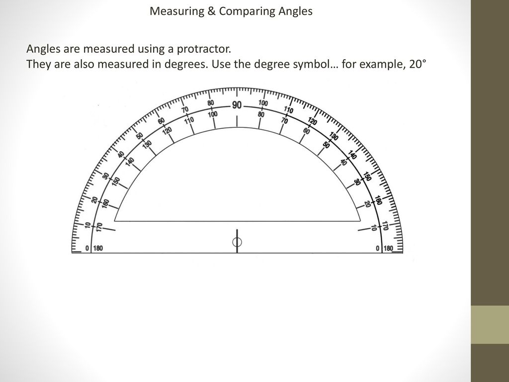 Measuring Comparing Angles Ppt Download