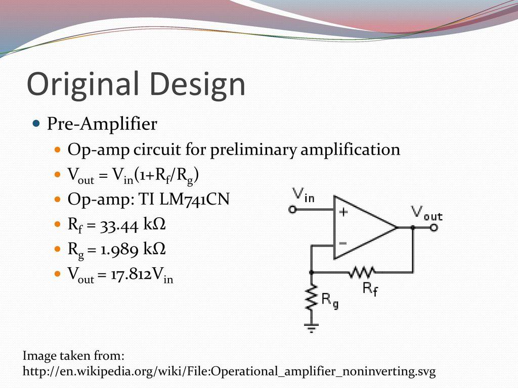 Aaron Gipp Victor Salov Udara Cabraal Ppt Download Pre Amplifier Circuit Original Design