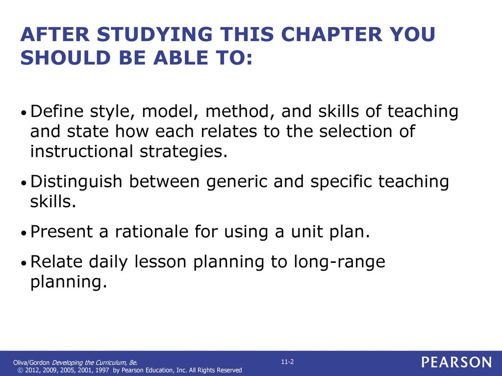 Chapter 5 Selecting And Implementing Strategies Of Instruction