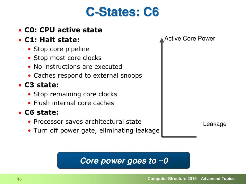 Computer Structure Power and Power Management - ppt download
