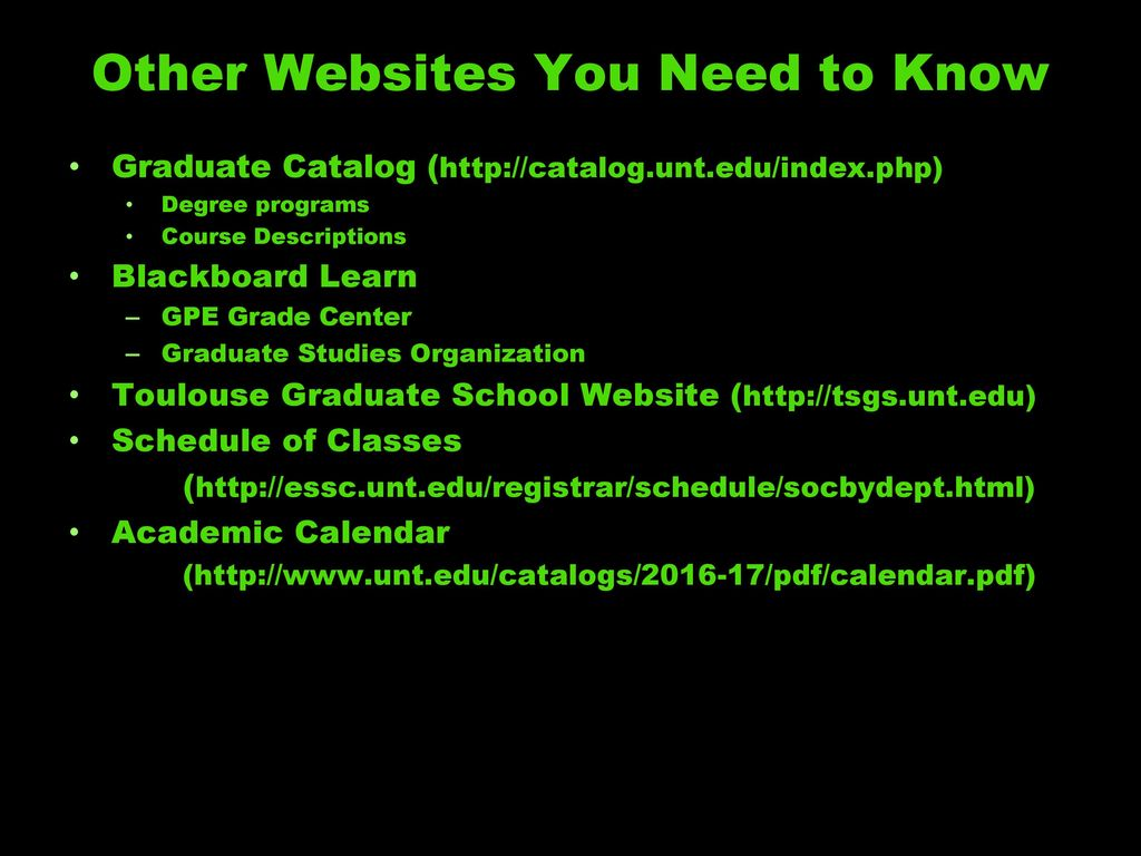 Welcome To Unt And The College Of Music Ppt Download