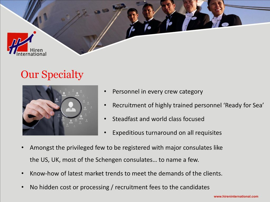 Who we are? Hiren International is now at the forefront of