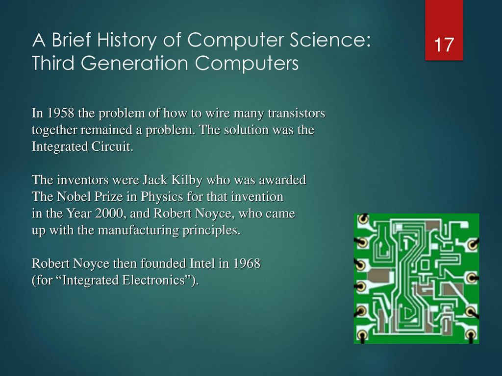 Computer Science And Programming Brief History Ppt Download Abacus Ii Integratedcircuit Wire Bonder 17 A