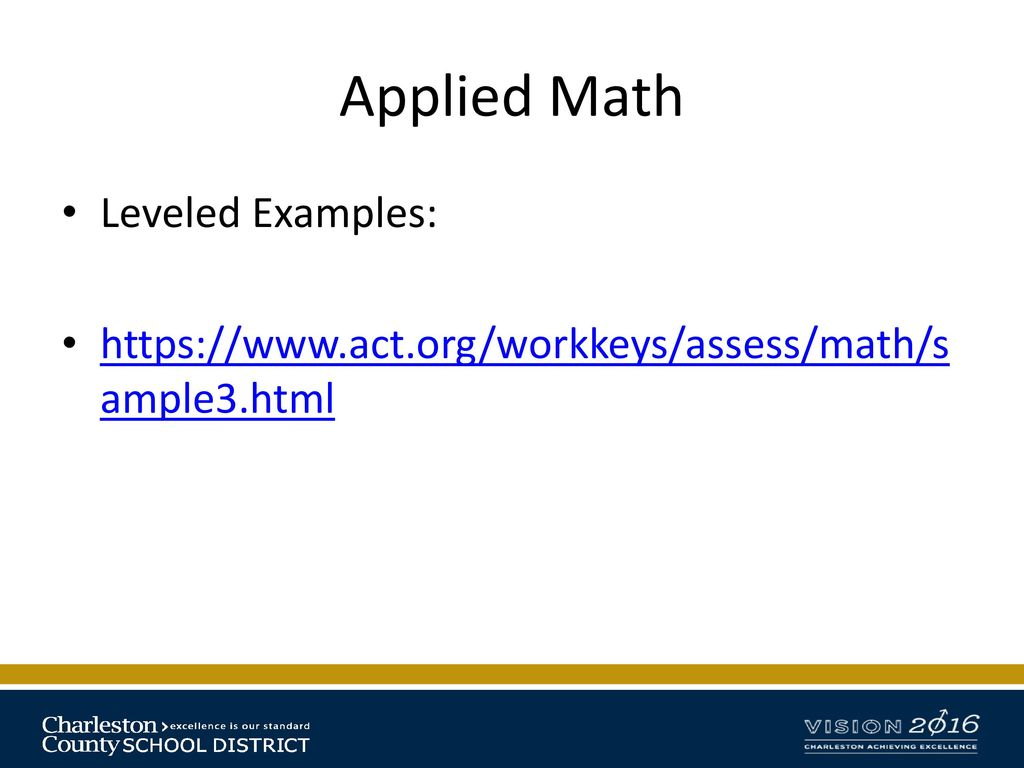 Career Readiness: WorkKeys FAQs - ppt download